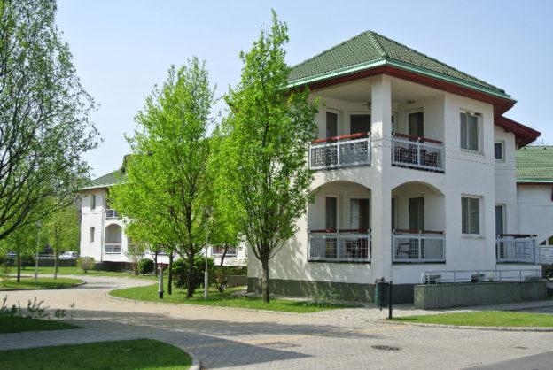 Studentnwohnheime auf dem Campus der University of Debrecen