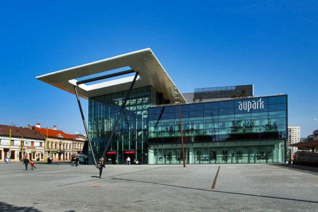 Die Stadt Kosice in der Slowakei