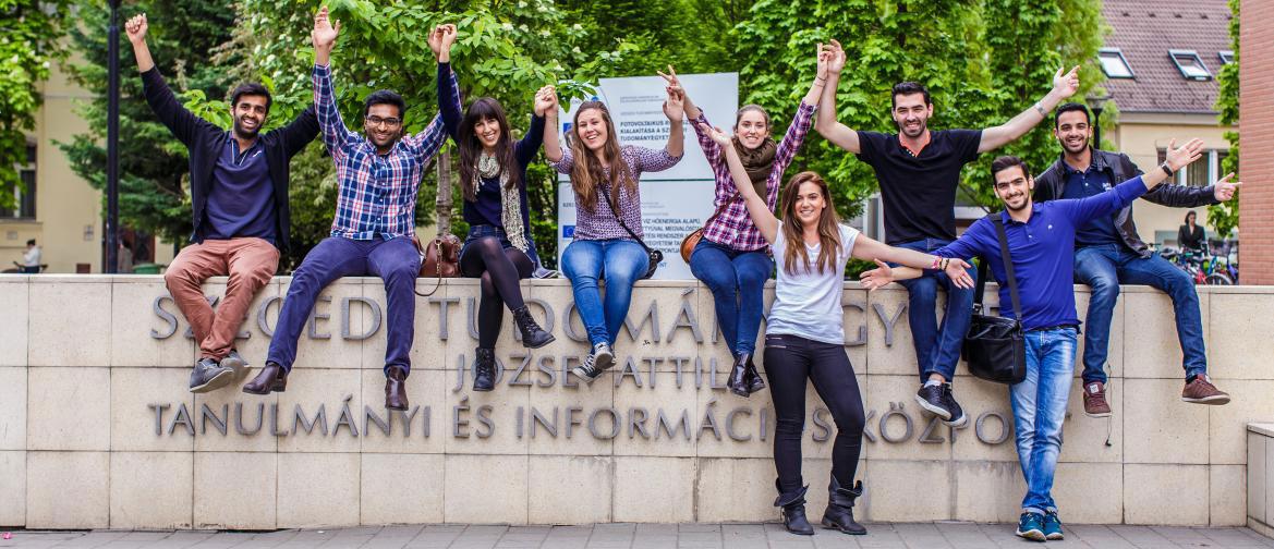 Die internationale University of Szeged in Ungarn