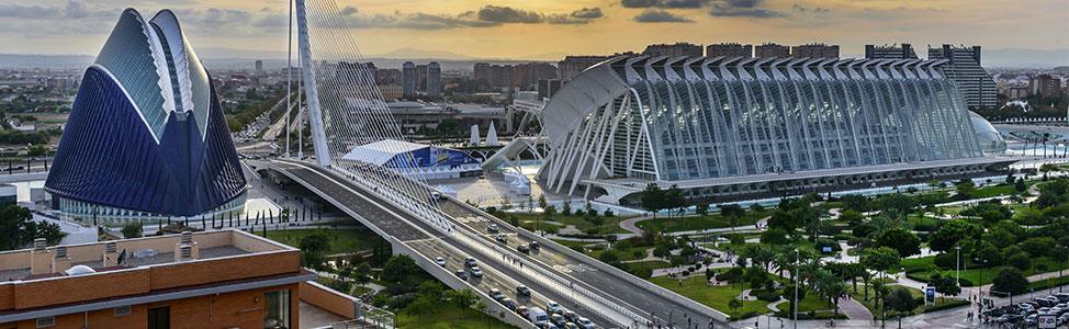 Die Stadt Valencia