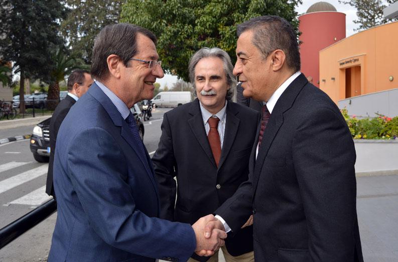 Zyperns Präsident lobt die herausragende Qualität der EUC