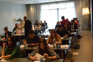 Internationale Atmosphäre bei den Aufnahmeprüfungen