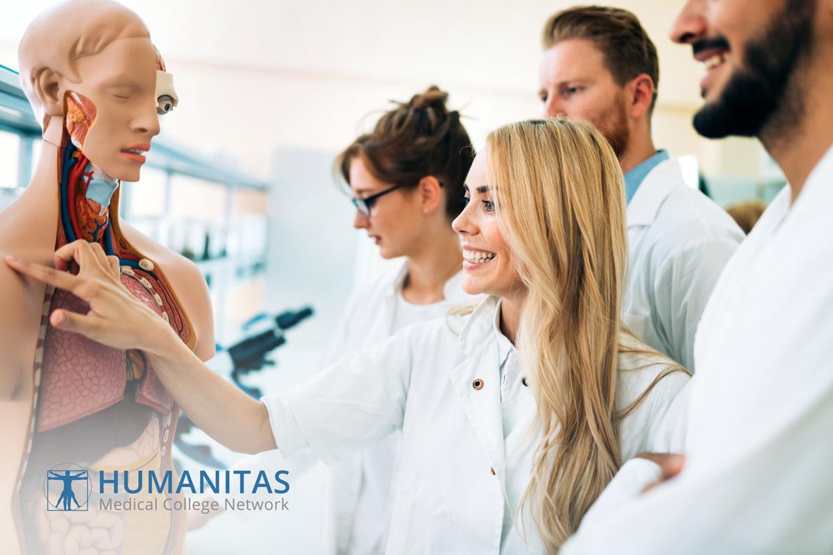 HUMANITAS pre med courses