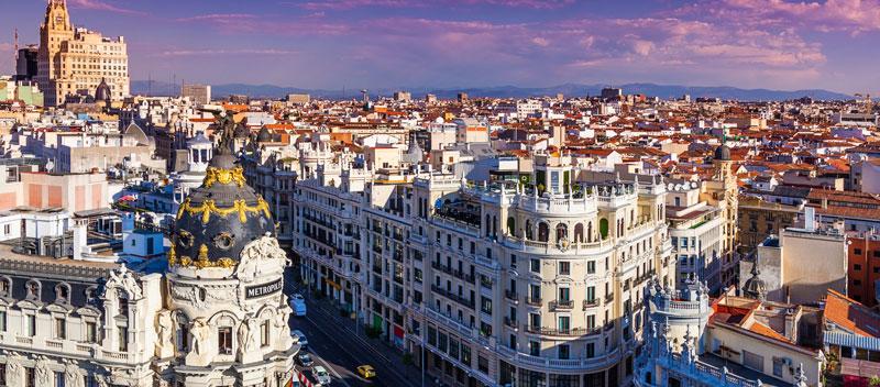 Die Stadt Madrid