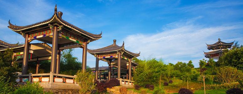 Einblicke in die Landschaft der Stadt Wenzhou