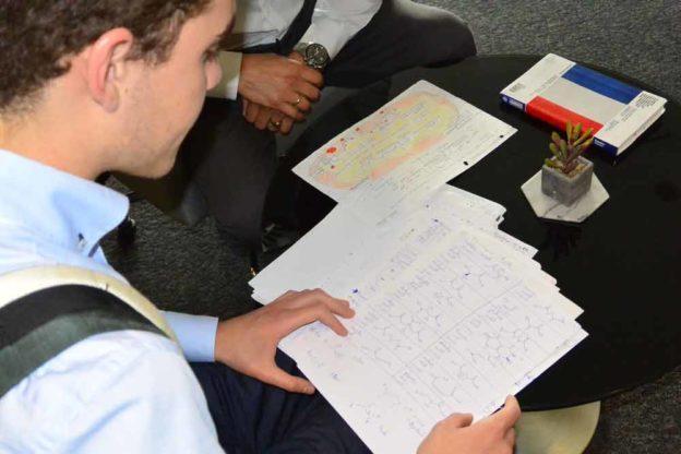 Aufnahmeprüfung für die Masaryk und Hradec Kralvoe