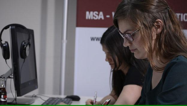 Die ersten MSA Prüfungen 2017