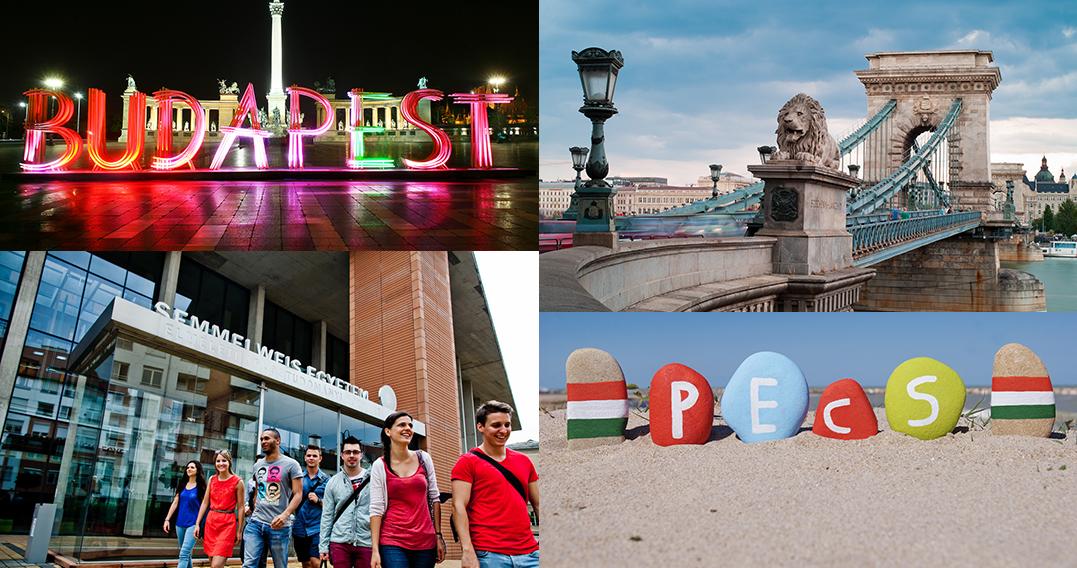 Studiere in Ungarn (Budapest, Pécs, Szeged oder Debrecen)