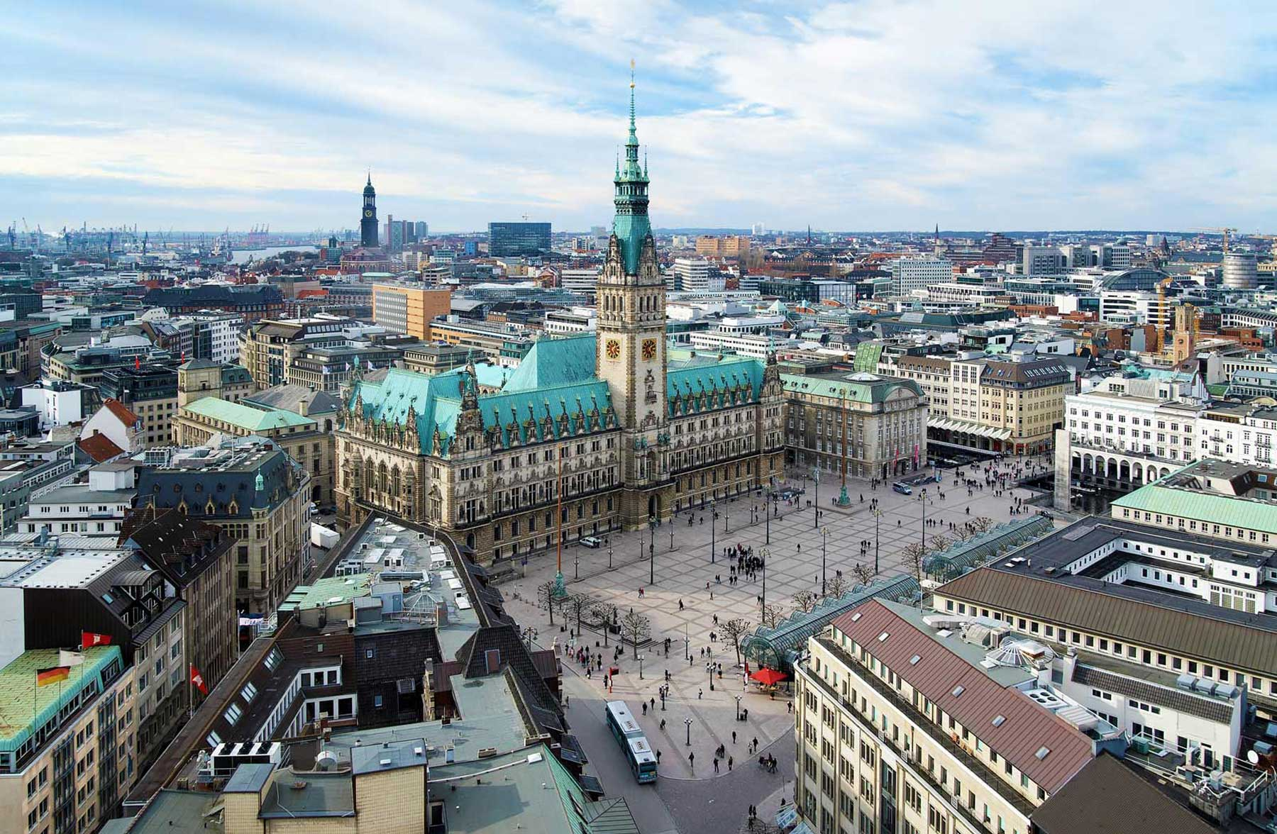 Die Stadt Hamburg