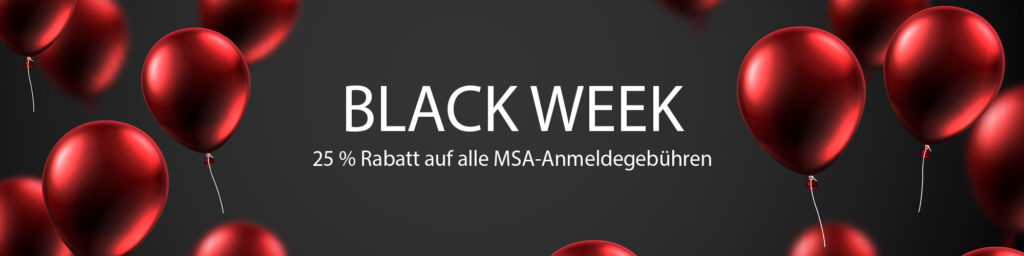 Black Week Rabatt