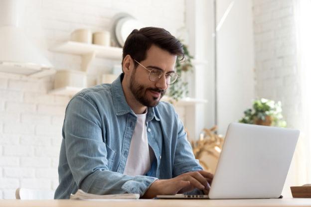 Online-Studium von zu Hause aus